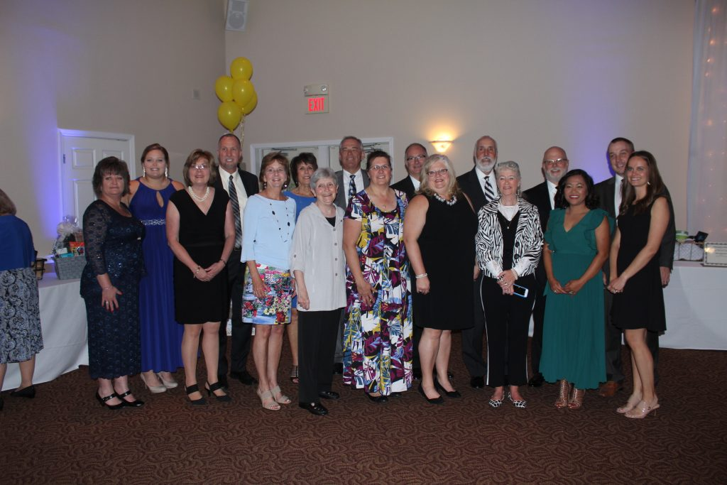 State Bank employees at 2019 HSS Gala