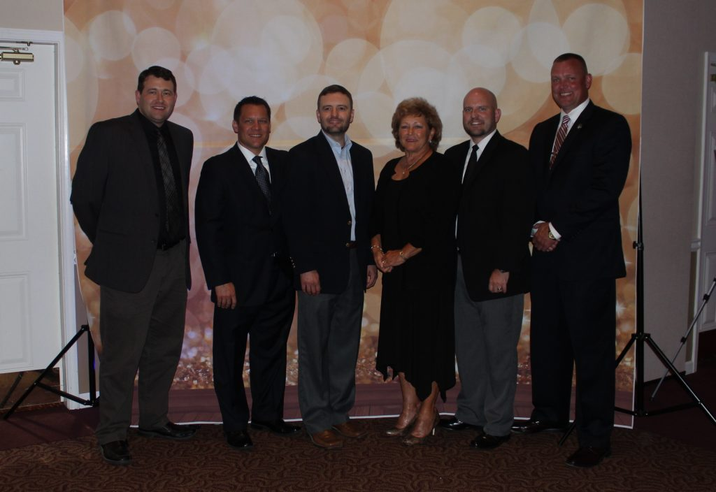 Local officials at 2019 HSS Gala