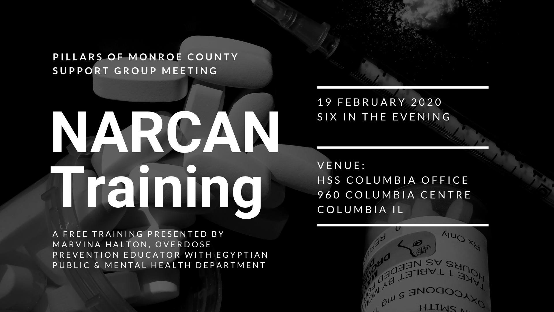 narcan training HSS